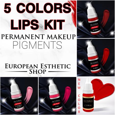Bild von 5 COLORS Lips Kit